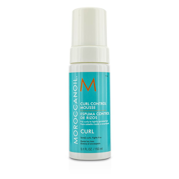 Moroccanoil Curl Control Mousse (For Curly to Tightly Spiraled Hair) 150ml