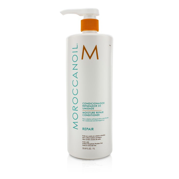 Moroccanoil Moisture Repair Conditioner - For Weakened and Damaged Hair (Salon Product) 1000ml