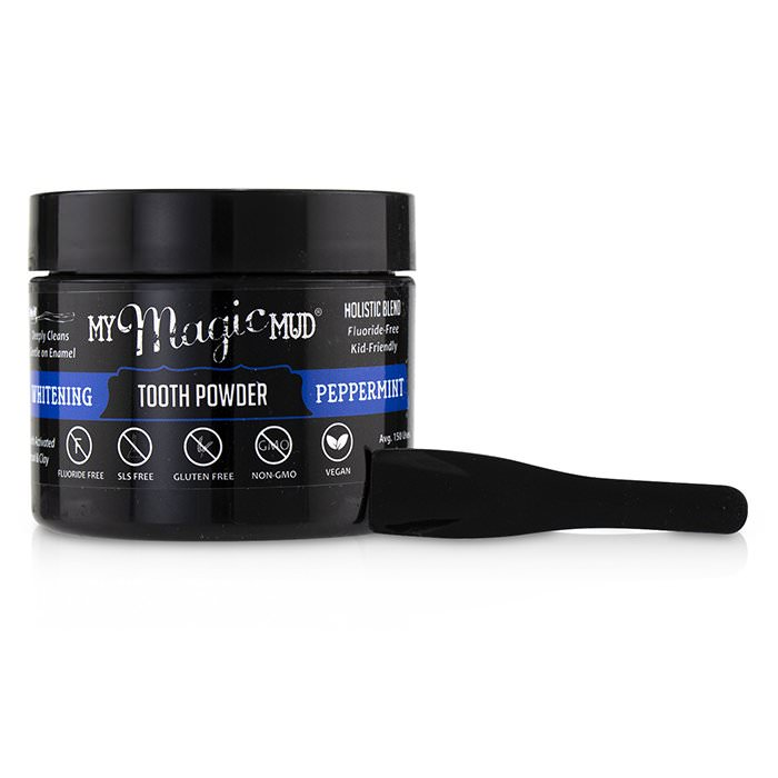 My Magic Mud Activated Charcoal Whitening Tooth Powder - Peppermint 30g