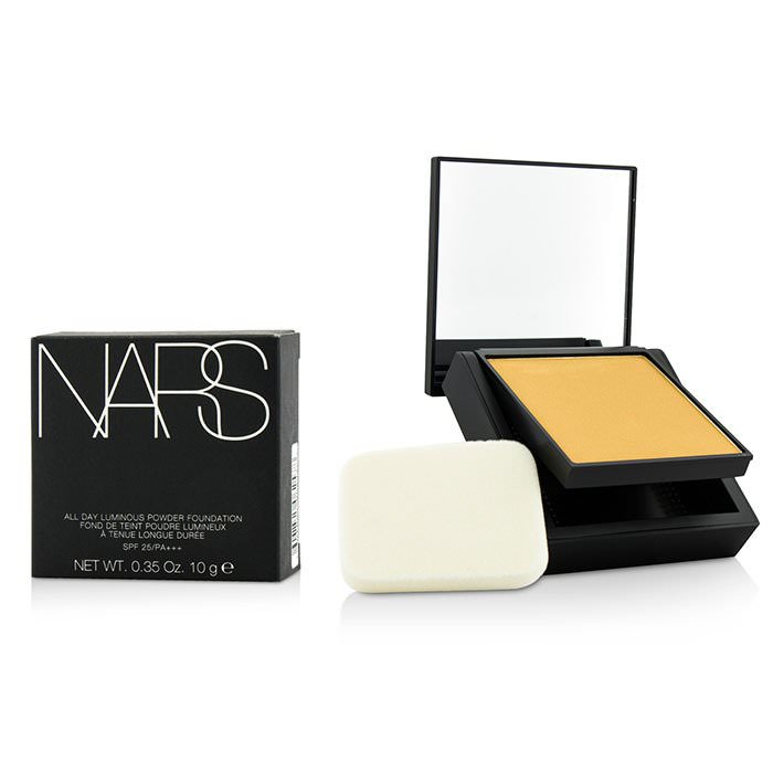 NARS All Day Luminous Powder Foundation SPF25 - Stromboli (Medium 3 Medium With Olive Undertones) 10g