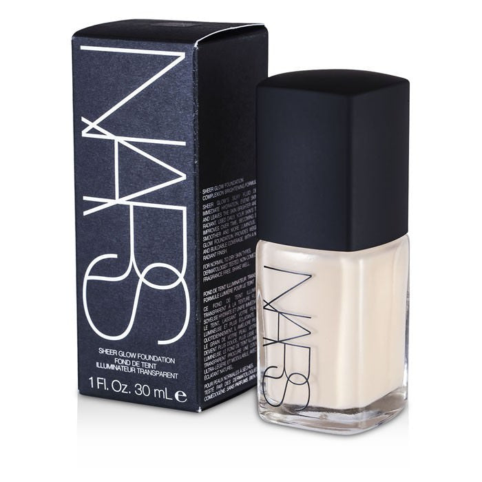 NARS Sheer Glow Foundation - Siberia (Light 1 - Light w/ Neutral Balance of Pink & Yellow Undertones) 30ml