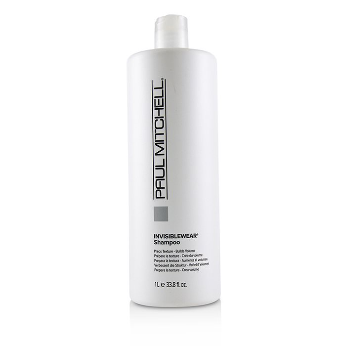 Paul Mitchell Invisiblewear Shampoo (Preps Texture - Builds Volume) 1000ml