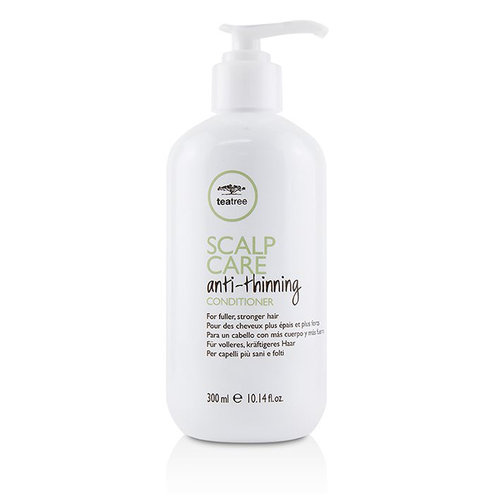Paul Mitchell Tea Tree Scalp Care Anti-Thinning Conditioner (For Fuller, Stronger Hair) 300ml