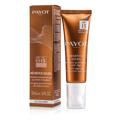 Payot Benefice Soleil Anti-Aging Protective Emulsion SPF 15 UVA/UVB 50ml