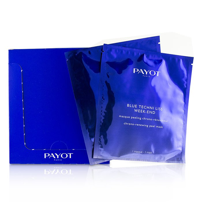 Payot Blue Techni Liss Week-End Chrono-Renewing Peel Mask 10pcs