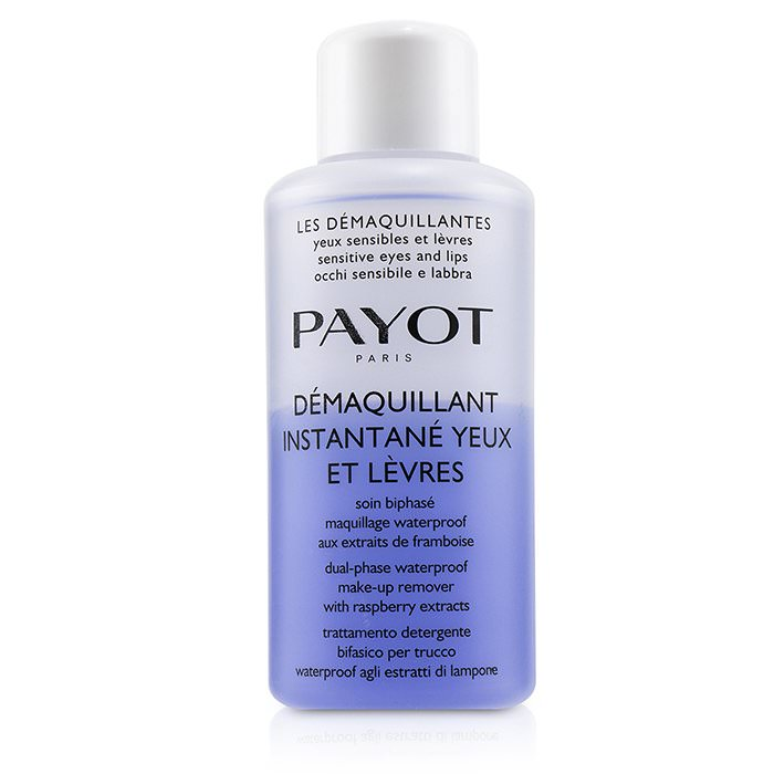 Payot Les Demaquillantes Demaquillant Instantane Yeux Dual-Phase Waterproof Make-Up Remover - For Sensitive Eyes (Salon Size) 200ml