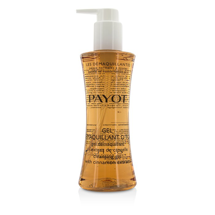 Payot Les Demaquillantes Gel Demaquillant D'Tox Cleansing Gel With Cinnamon Extract - Normal To Combination Skin 200ml
