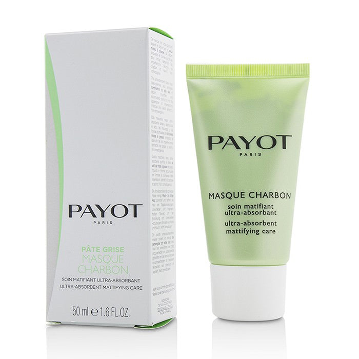 Payot Pate Grise Masque Charbon - Ultra-Absorbent Mattifying Care 50ml