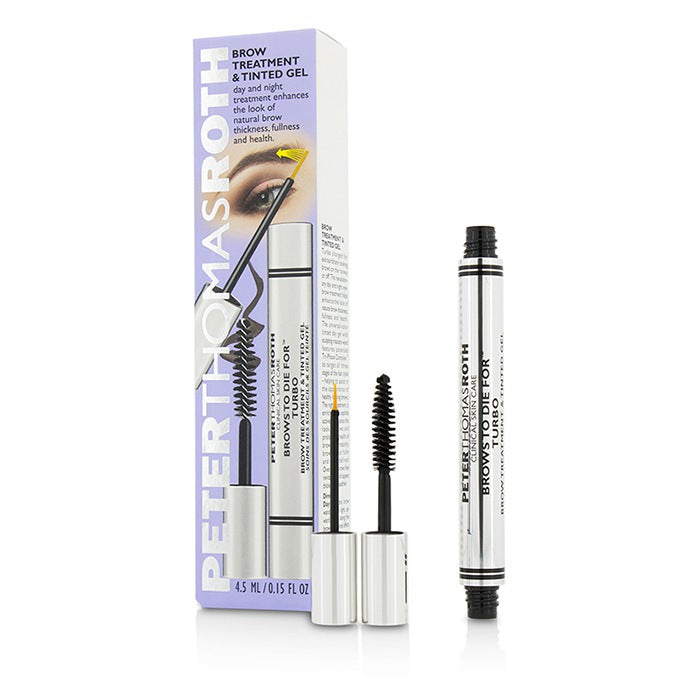 Peter Thomas Roth Brows To Die For Turbo Brow Treatment & Tinted Gel 4.5ml