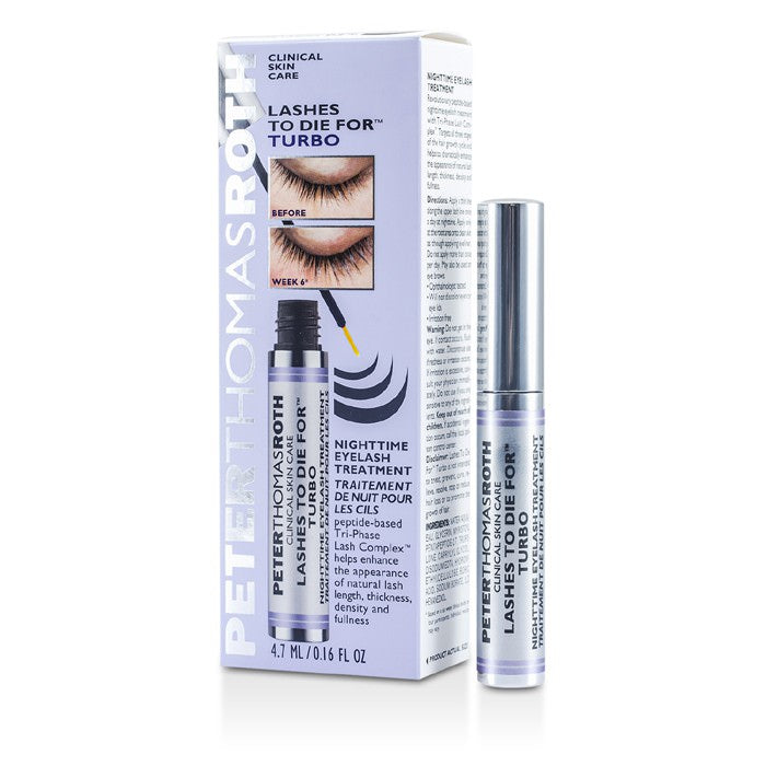 Peter Thomas Roth Lashes To Die For Turbo Nighttime Eyelash Treatment 4.7ml