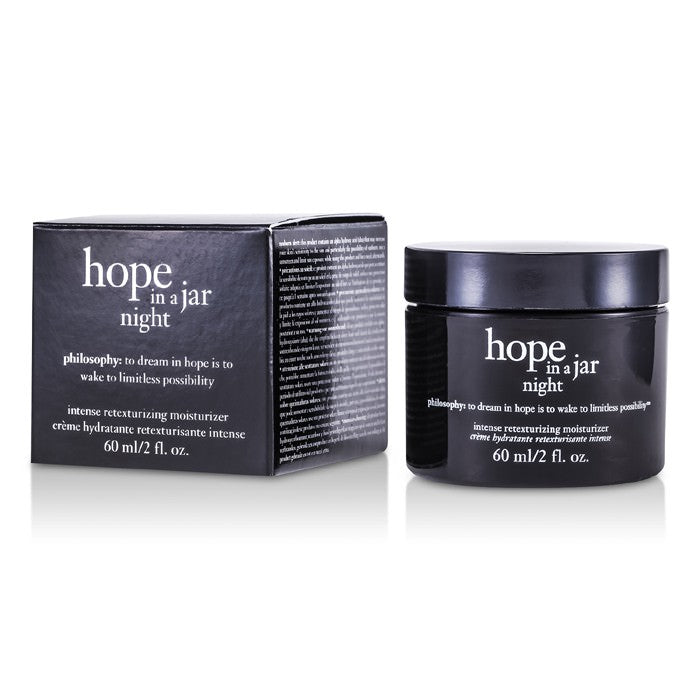 Philosophy Hope In a Jar Night Intense Retexturizing Moisturizer 60ml