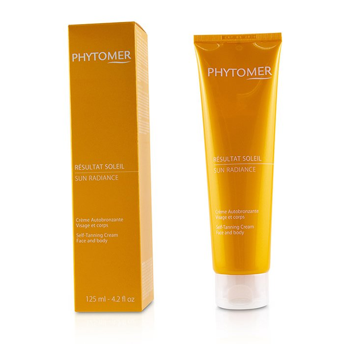 Phytomer Sun Radiance Self-Tanning Cream (For Face and Body) 125ml