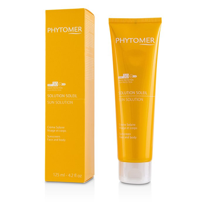 Phytomer Sun Solution Sunscreen SPF 30 (For Face and Body) 125ml