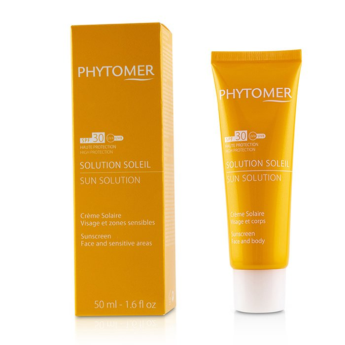Phytomer Sun Solution Sunscreen SPF 30 (For Face and Sensitive Areas) 50ml