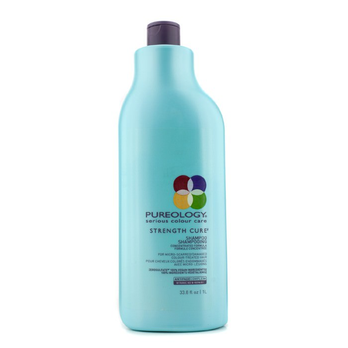 Pureology Strength Cure Shampoo (For Micro-Scarred/Damaged Colour-Treated Hair) 1000ml