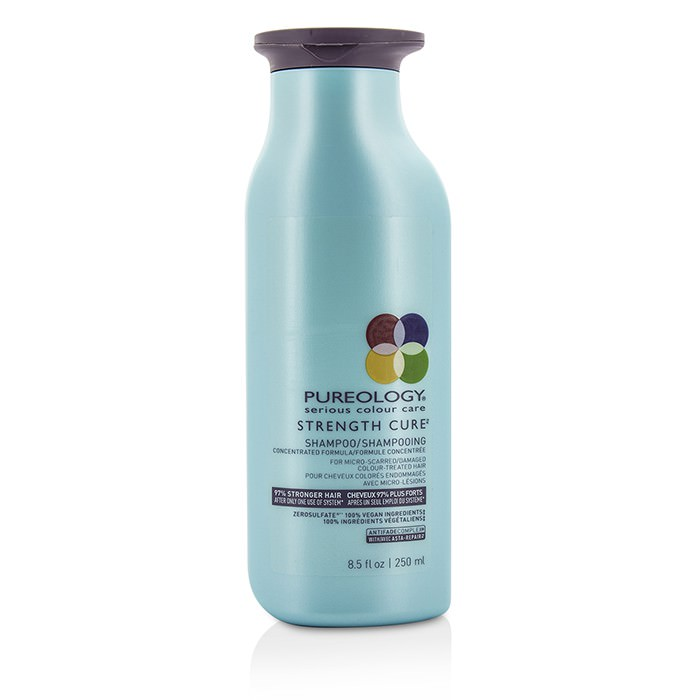 Pureology Strength Cure Shampoo (For Micro-Scarred/ Damaged Colour-Treated Hair) 250ml