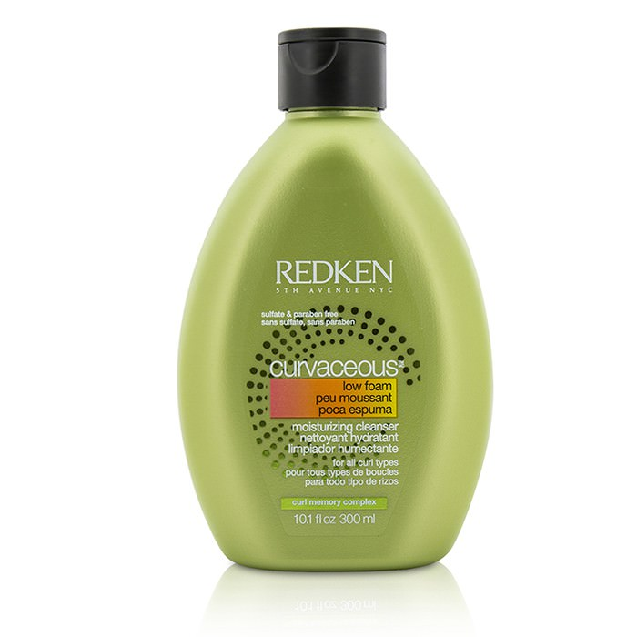 Redken Curvaceous Low Foam Moisturizing Cleanser (For All Curls Types) 300ml