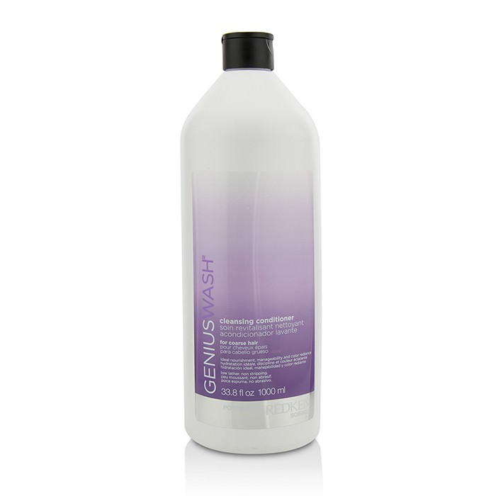 Redken Genius Wash Cleansing Conditioner (For Coarse Hair) 1000ml