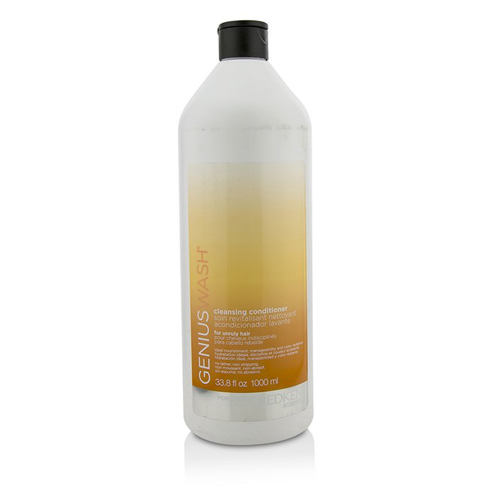 Redken Genius Wash Cleansing Conditioner (For Unruly Hair) 1000ml