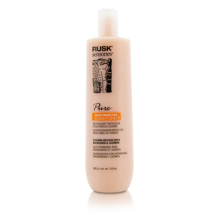 Rusk Sensories Pure Color-Protecting Conditioner (Vitamin Infused with Mandarin & Jasmine) 383g