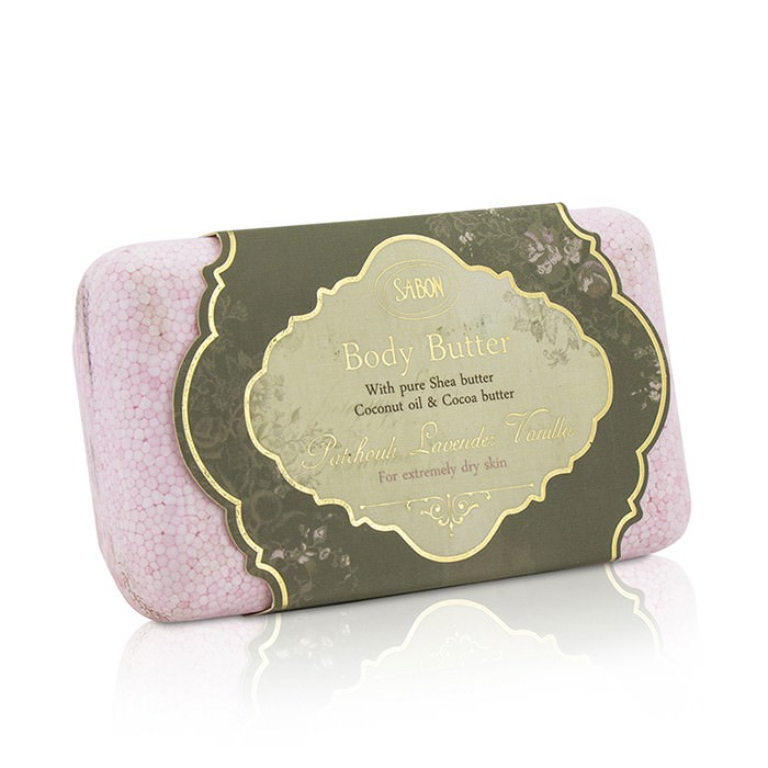 Sabon Body Butter (For Extremely Dry Skin) - Patchouli Lavender Vanilla 100g