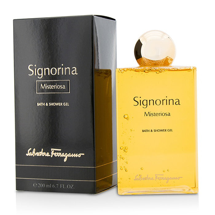 Salvatore Ferragamo Signorina Misteriosa Bath & Shower Gel 200ml