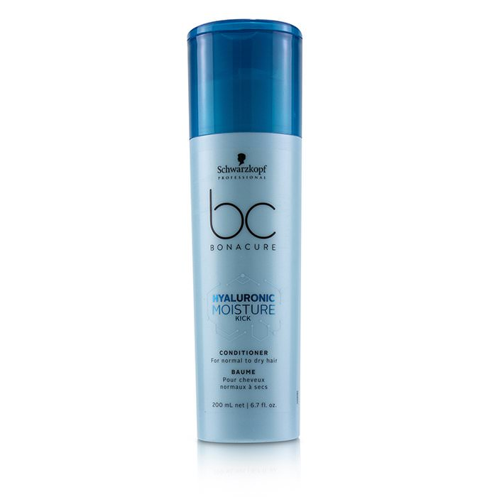 Schwarzkopf BC Bonacure Hyaluronic Moisture Kick Conditioner (For Normal to Dry Hair) 200ml