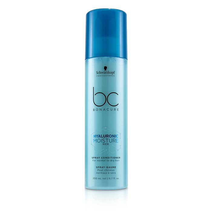 Schwarzkopf BC Bonacure Hyaluronic Moisture Kick Spray Conditioner (For Normal to Dry Hair) 200ml