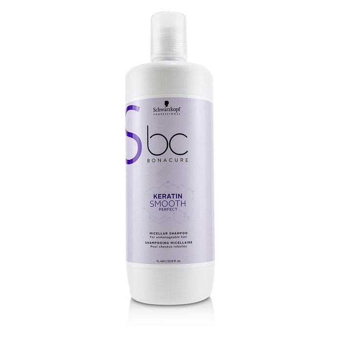 Schwarzkopf BC Bonacure Keratin Smooth Perfect Micellar Shampoo (For Unmanageable Hair) 1000ml