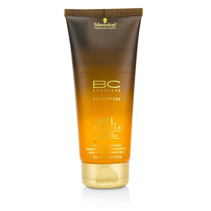 Schwarzkopf BC Bonacure Oil Miracle Argan Oil Oil-In-Shampoo (For Normal to Thick Hair) 200ml