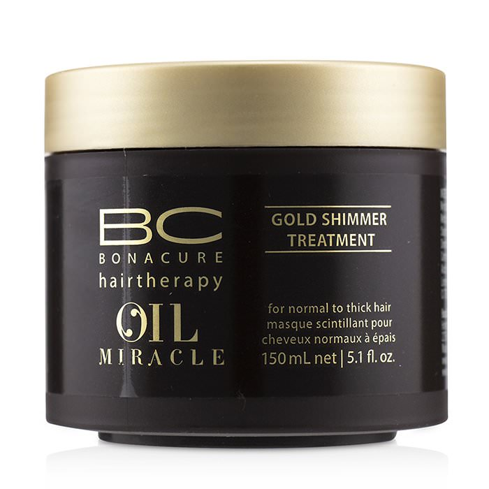 Schwarzkopf BC Bonacure Oil Miracle Gold Shimmer Treatment (For Normal to Thick Hair) 150ml