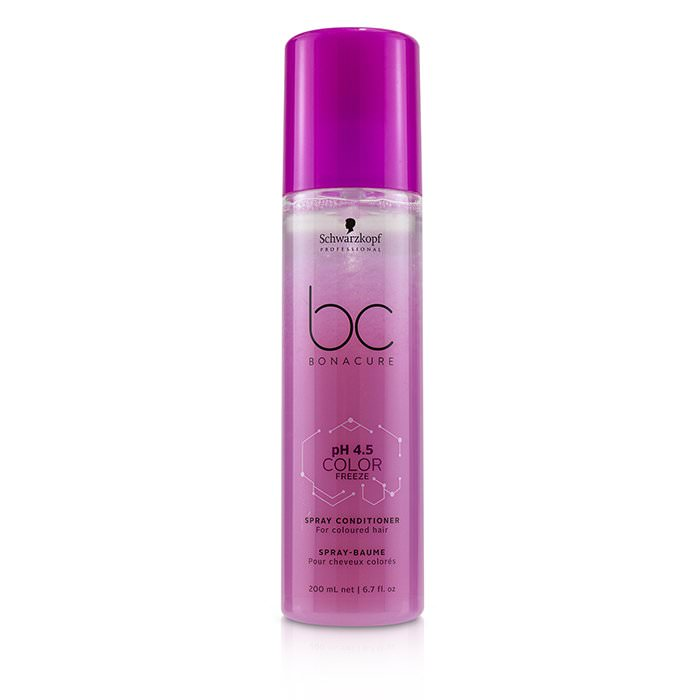 Schwarzkopf BC Bonacure pH 4.5 Color Freeze Spray Conditioner (For Coloured Hair) 200ml