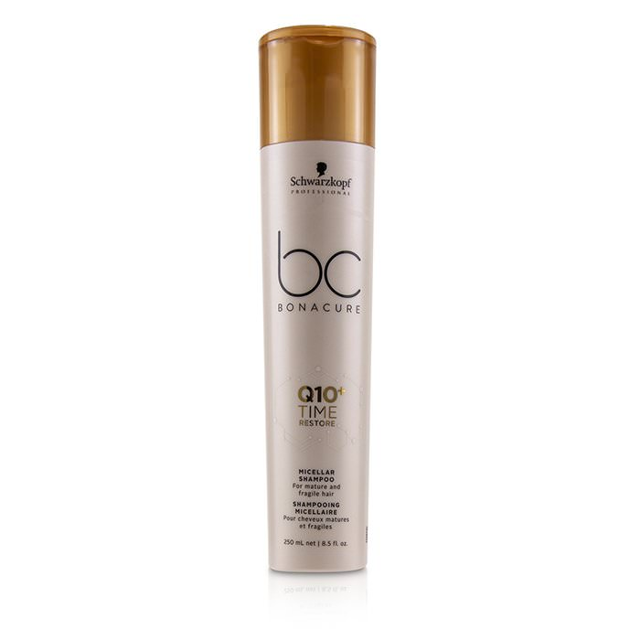Schwarzkopf BC Bonacure Q10+ Time Restore Micellar Shampoo (For Mature and Fragile Hair) 250ml