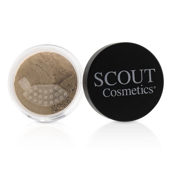 SCOUT Cosmetics Mineral Powder Foundation SPF 20 - # Camel 8g