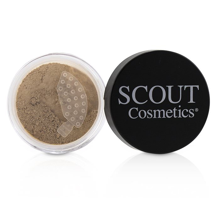 SCOUT Cosmetics Mineral Powder Foundation SPF 20 - # Shell 8g