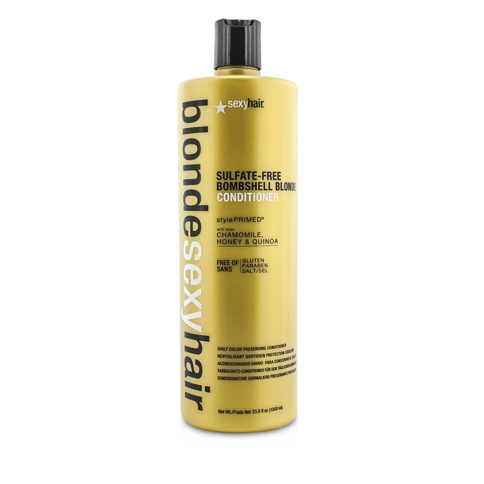 Sexy Hair Concepts Blonde Sexy Hair Sulfate-Free Bombshell Blonde Conditioner (Daily Color Preserving) 1000ml