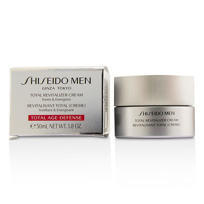 Shiseido Men Total Revitalizer Cream - Tonifiant & Energisant 50ml