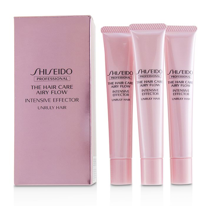Shiseido The Hair Care Airy Flow Intensive Effector (Unruly Hair) 6x20g