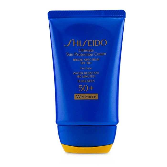 Shiseido Ultimate Sun Protection Cream WetForce For Face SPF 50+ 50ml