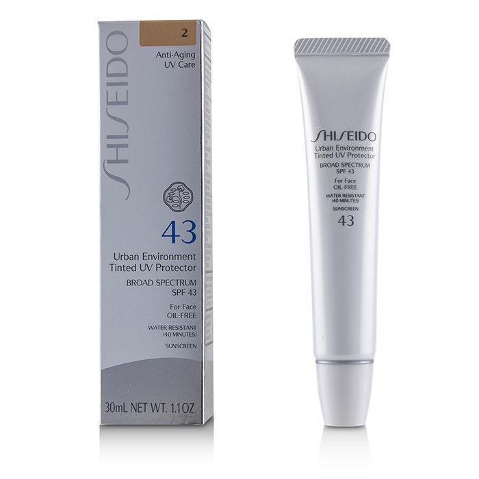 Shiseido Urban Environment Tinted UV Protector SPF 43 - # Shade 2 30ml