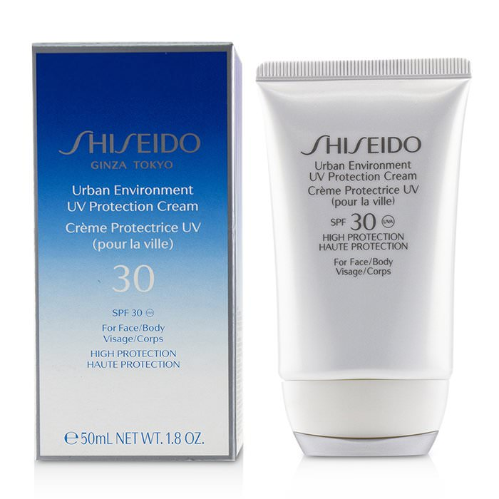 Shiseido Urban Environment UV Protection Cream SPF 30 (For Face & Body) 50ml