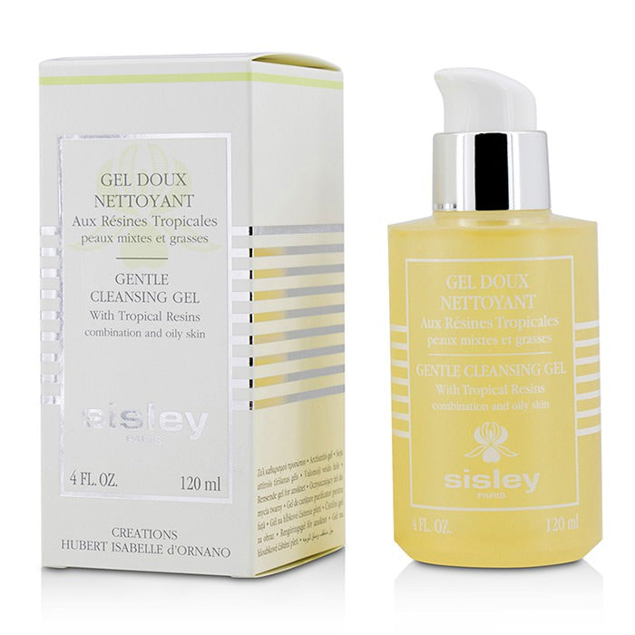 Sisley Gentle Cleansing Gel With Tropical Resins - For Combination & Oily Skin 120ml