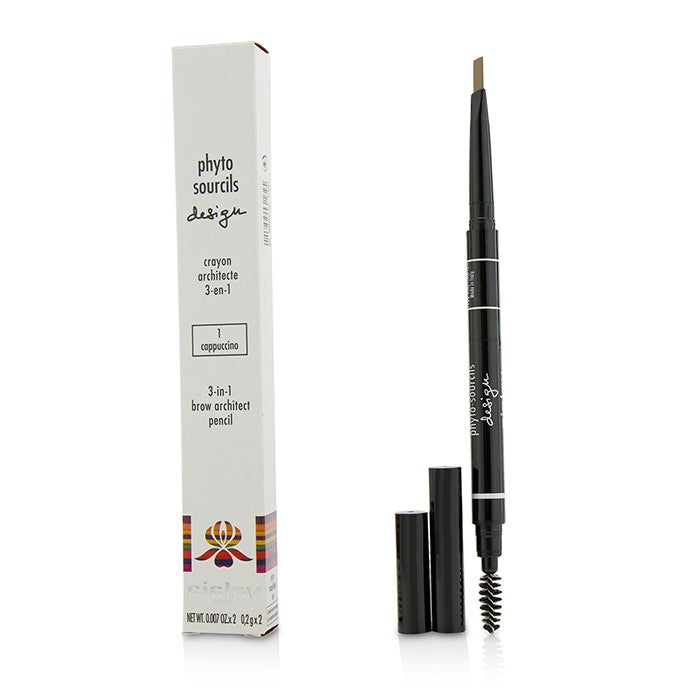 Sisley Phyto Sourcils Design 3 In 1 Brow Architect Pencil - # 1 Cappuccino 2x0.2g