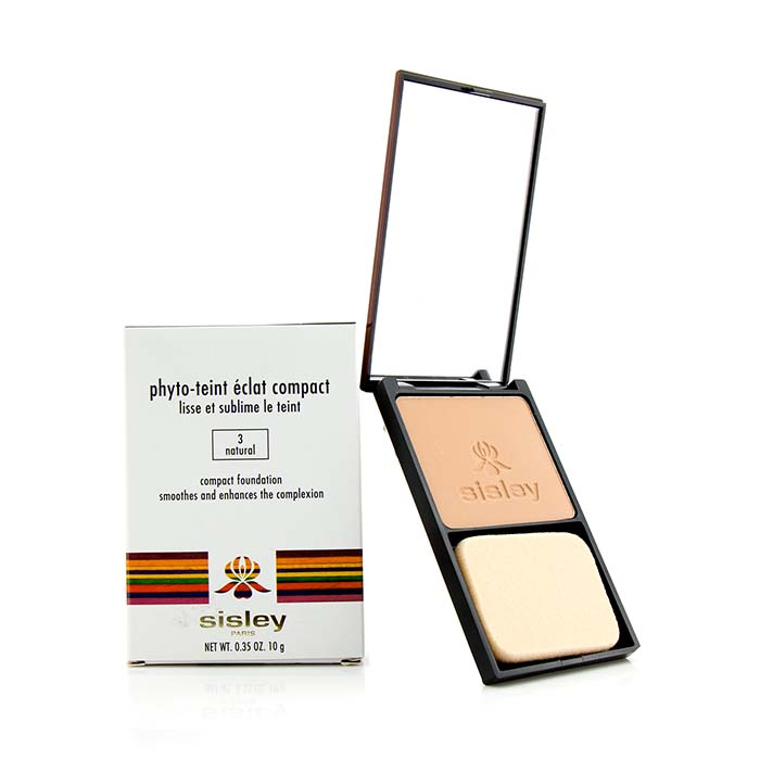 Sisley Phyto Teint Eclat Compact Foundation - # 3 Natural 10g