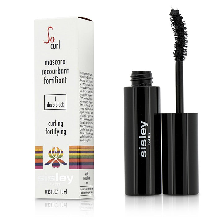 Sisley So Curl Mascara Curling & Fortifying - #01 Deep Black 10ml
