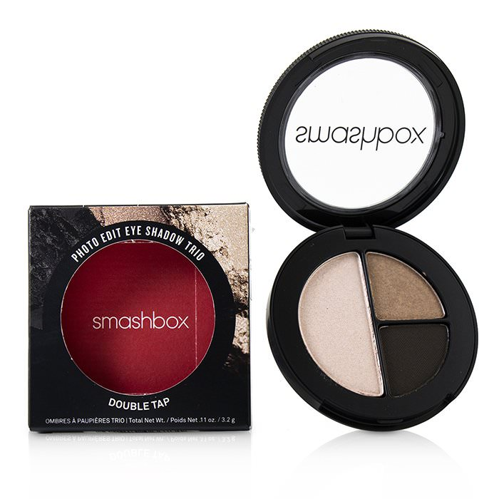 Smashbox Photo Edit Eye Shadow Trio - # Double Tap (Side Hustle, Gif Me That, Meme Girl) 3.2g
