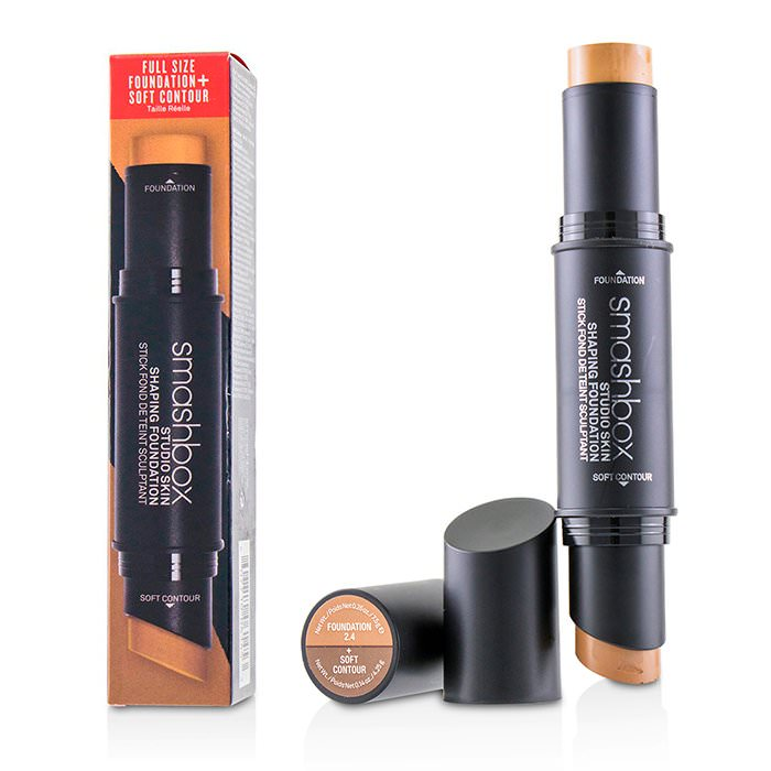 Smashbox Studio Skin Shaping Foundation + Soft Contour Stick - # 2.4 Cool Beige 11.75