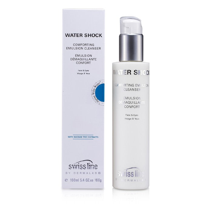 Swissline Water Shock Comforting Emulsion Cleanser 160ml