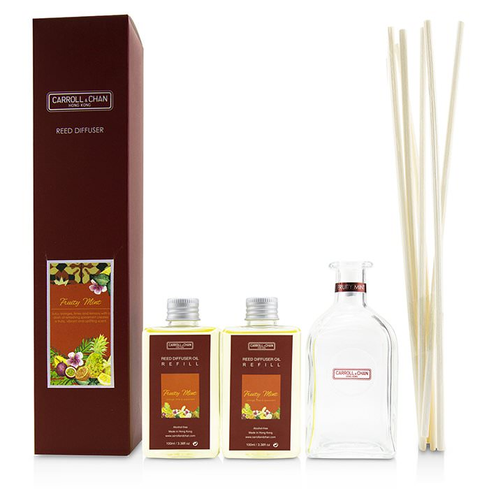 The Candle Company (Carroll & Chan) Reed Diffuser - Fruity Mint 200ml