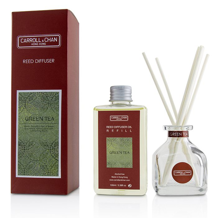 The Candle Company (Carroll & Chan) Reed Diffuser - Green Tea 100ml